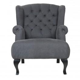 Lækker Polstret lænestol med øreklapper. Køb den online hos Brandi Living UL-46