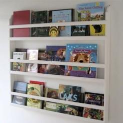 Tallerkenrække/bogrække