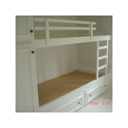 Indbygningsskabe og senge