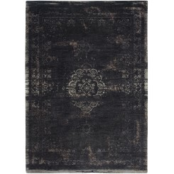 Vintage gulvtæppe Black