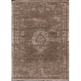 Vintage gulvtæppe Brown/White