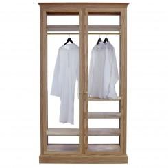2-fløjet Garderobeskab