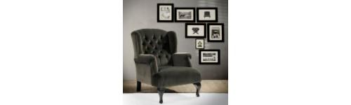 Lænestole, sofaer, chaiselonguer